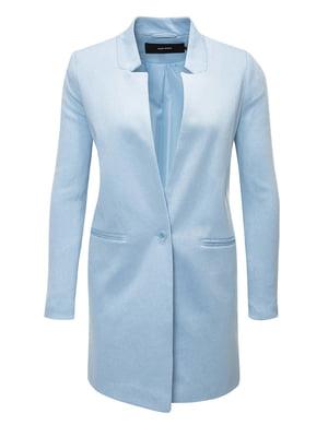 Пальто светло-голубое | 4368239