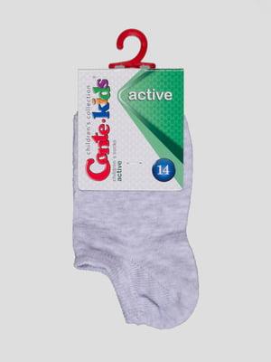 Шкарпетки світло-сірі | 4366730