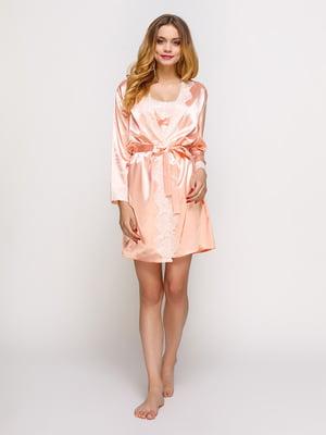 Комплект: халат і нічна сорочка | 4366231
