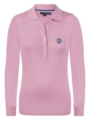 Джемпер-поло розовый | 3797382