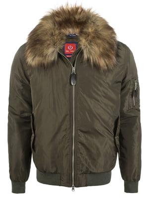 Куртка цвета хаки   3797663