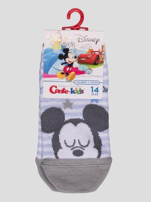 Шкарпетки в смужку з малюнком | 4366802