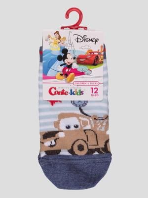 Шкарпетки в смужку з малюнком | 4366825