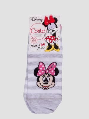 Шкарпетки в смужку з малюнком | 4366531
