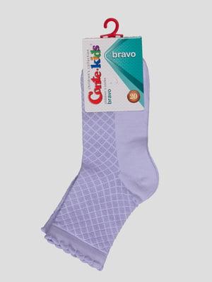 Носки светло-фиолетовые | 4366767