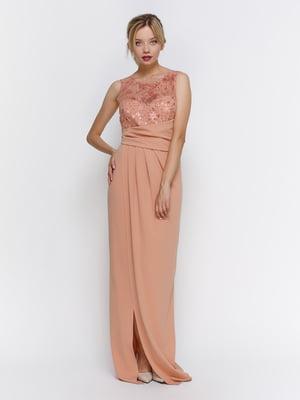 Платье бежевое | 4347970