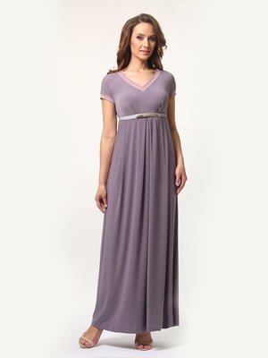 Платье серо-сиреневое | 4372071