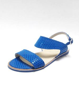 Сандалии синие | 4373760