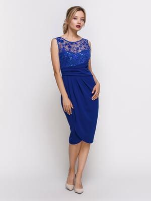 Платье синее | 4348005