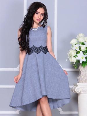 Платье цвета фиолетовой дымки | 4373743
