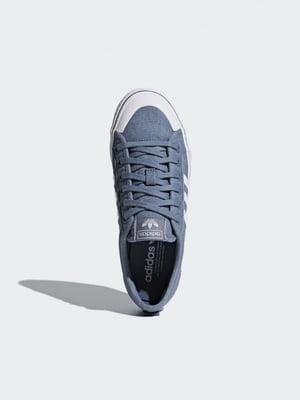 Кроссовки голубые | 4374189