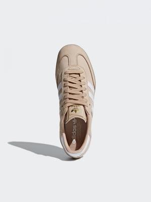 Кроссовки бежевые | 4374202