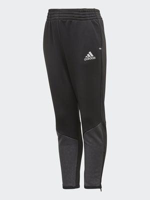 Брюки спортивные серо-черные   4375333