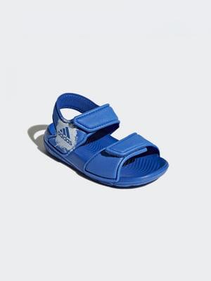 Сандалии синие | 4375721