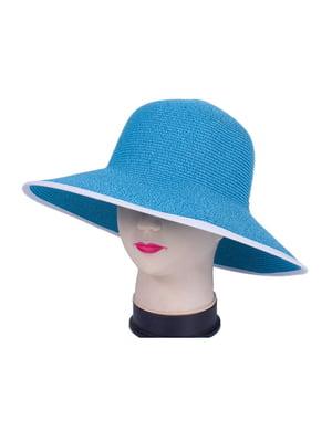 Шляпа бирюзовая   4236044