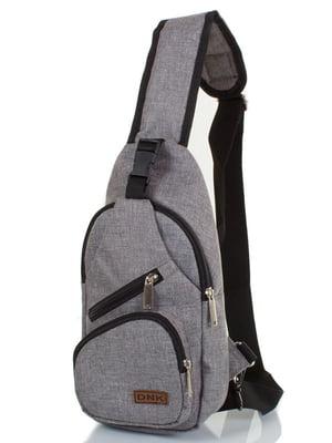 Сумка-рюкзак серая | 4368683