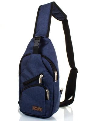Сумка-рюкзак синя | 4368685