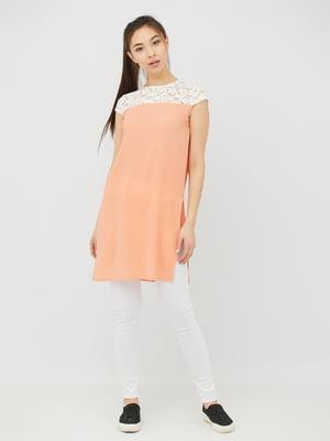 Туніка персикового кольору | 4381603
