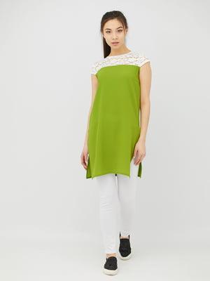 Туника зеленая | 4381605