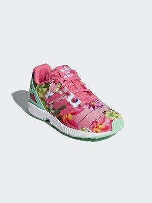 Кросівки рожеві в квітковий принт | 4375604