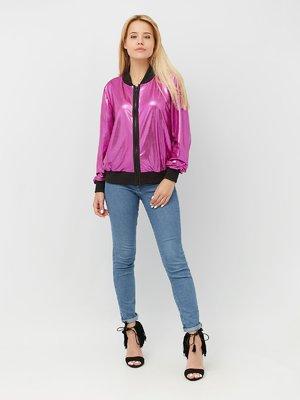 Бомбер розовый | 4381760