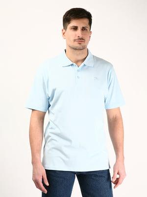 Футболка-поло блакитна   4379520