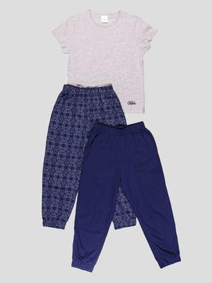 Пижама: футболка и штаны (2 шт.)   4358935