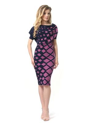 Платье двухцветное | 4384601