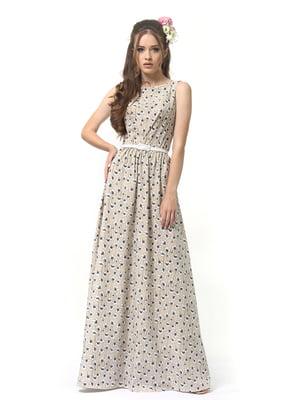 Сукня пісочного кольору | 4384628