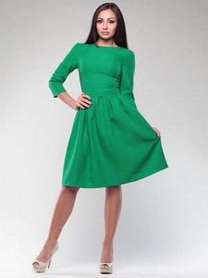 Платье изумрудного цвета | 4382784