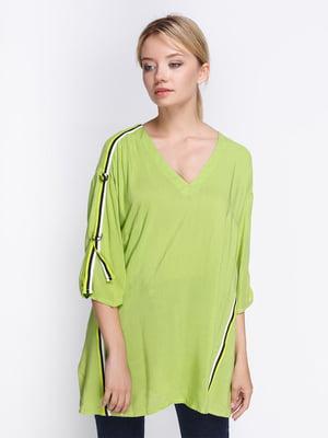 Блуза салатова | 4358613