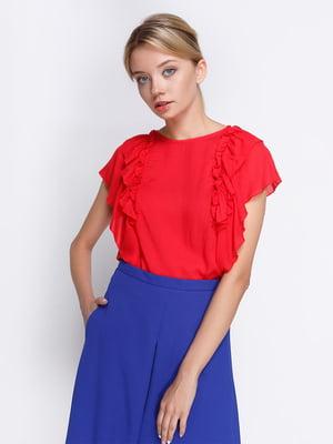 Блуза червона | 4358610