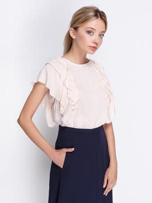 Блуза бежевая | 4358611