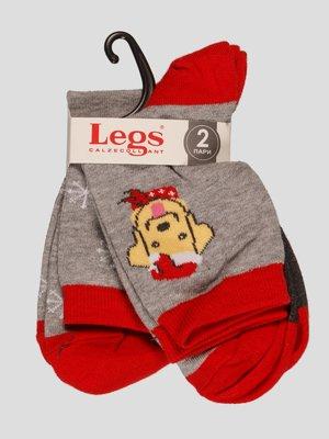 Набор носков (2 пары) - Legs - 4382457