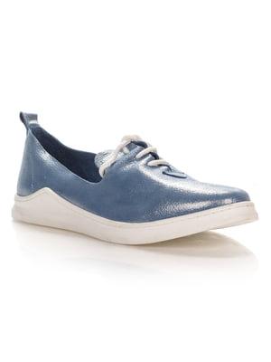 Туфли голубые | 4052603
