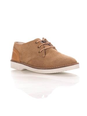 Туфли темно-бежевые | 4384649