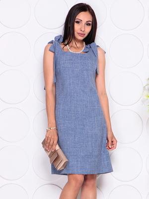 Платье цвета джинса | 4384425