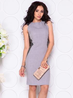 Платье серое | 4384434