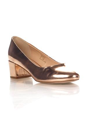 Туфли золотистые | 4338516