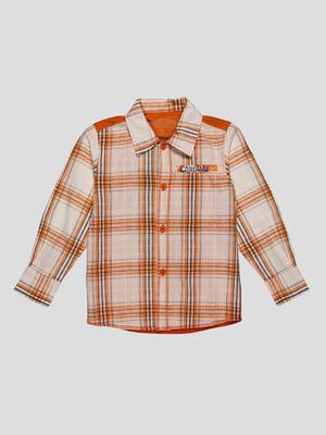 Рубашка клетчатая | 2913359