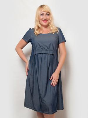 Сукня джинсового кольору | 4386144