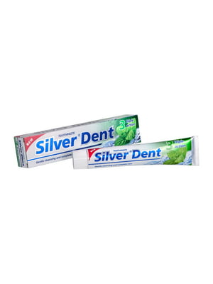 Зубна паста Silver Dent «Потрійна дія» (100 г) | 4386685