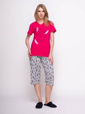 Піжама: футболка і бриджі   4356885