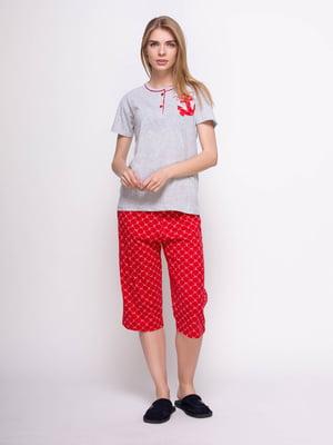 Пижама: футболка и бриджи | 4356906