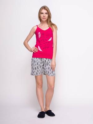 Пижама: майка и шорты | 4356850
