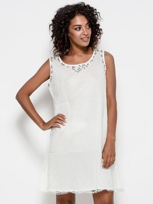 Сукня молочного кольору | 4387194