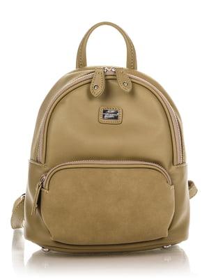 Рюкзак кольору хакі | 4385938