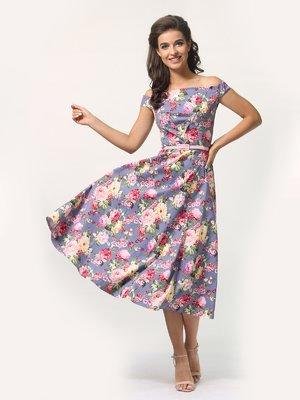 Сукня в квітковий принт | 4388464