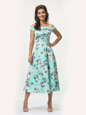 Сукня в квітковий принт | 4388468