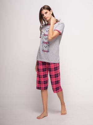 Піжама: футболка і бриджі   4356905
